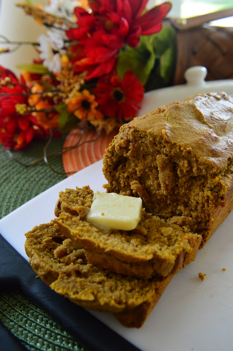 Pumpkin bread 5