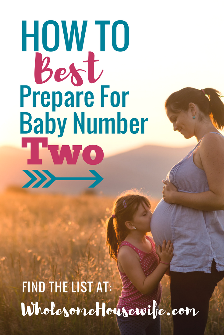 How To Best Prepare For Baby Number Two
