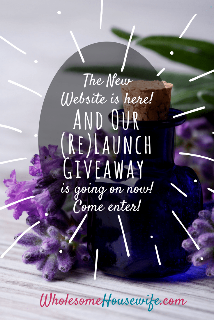 Our (Re)Launch Giveaway is going on now!