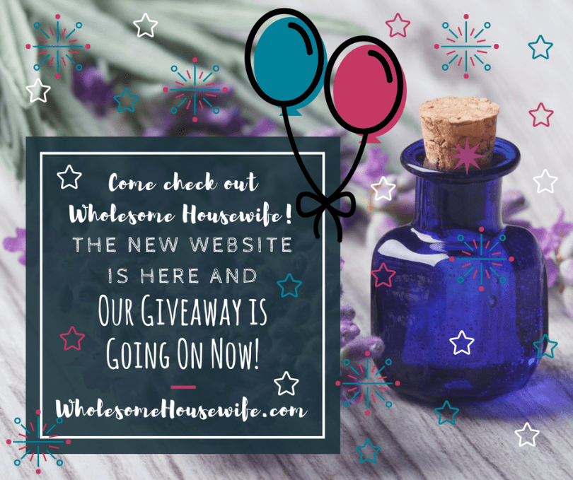 The New Website is Here and Our Giveaway is Going On Now!