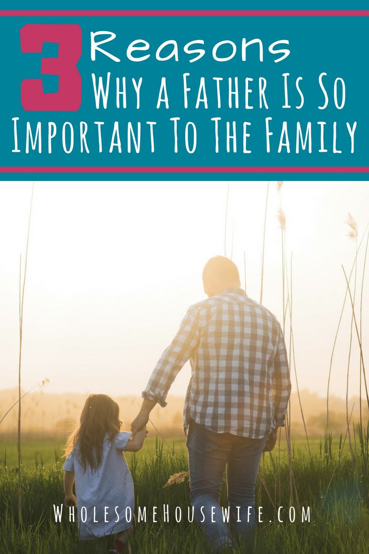 3 Reasons Why a Father Is So Important To The Family