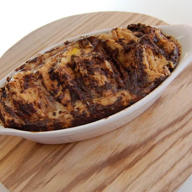 PB Chocolate Bread Pudding