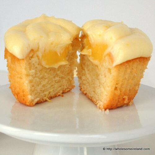 Lemon Yoghurt Cupcake - Wholesome Ireland, Irish Food ...
