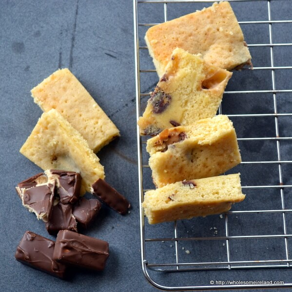Chocolate Bar Blondies For Leftover Treats