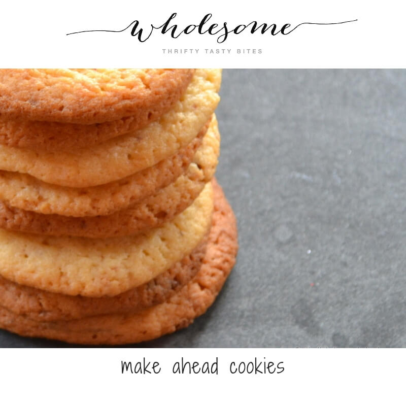 Make Ahead Cookies