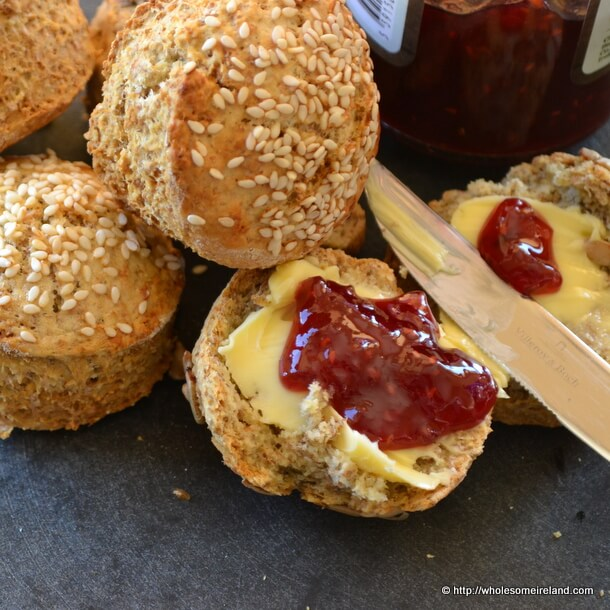 Irish Brown Soda Scones