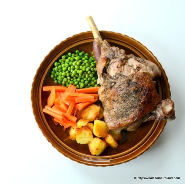 Slow Roast Leg Lamb
