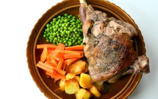 Slow Roast Leg Of Lamb