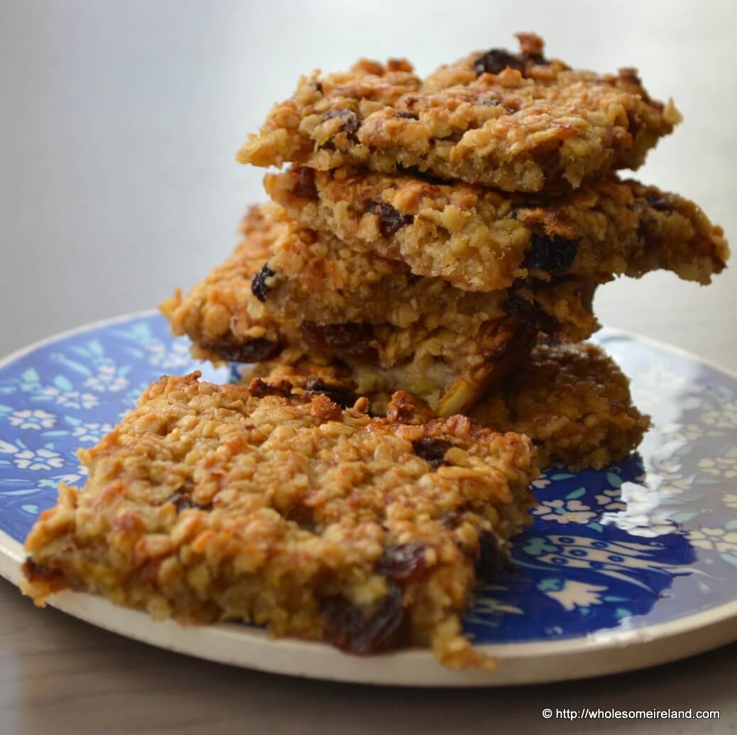 Chewy Fruit Flapjacks