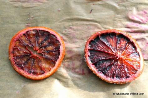 Blood Orange Crisps the results from Wholesome Ireland - Irish Food & Parenting Blog