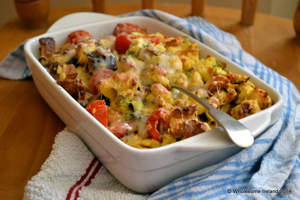 Bread And Egg Bake