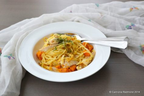 Butternut Roast Chicken Pasta - Caitriona Redmond