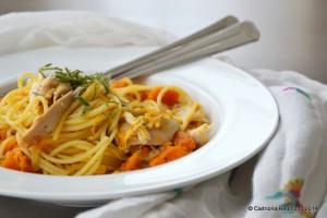 Butternut Roast Chicken Pasta - Caitriona Redmond