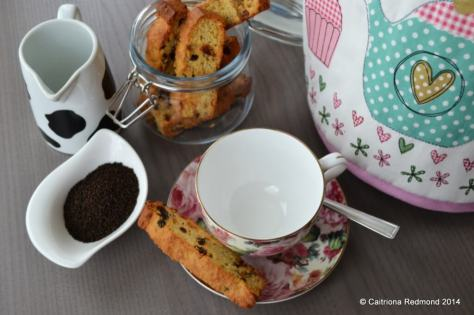 Tea Biscotti - Caitriona Redmond - Wholesome Ireland