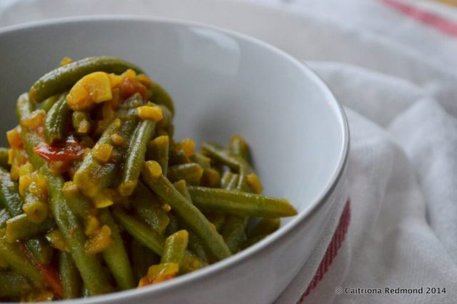 Veronica's Green Bean Curry from The Happy Pear Cookbook