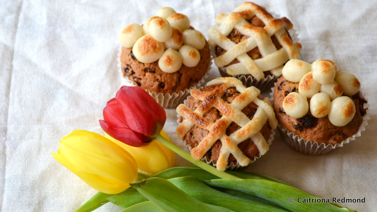Simnel Cupcakes