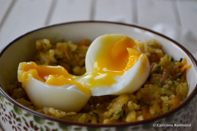 Carrot & Courgette Pilaf