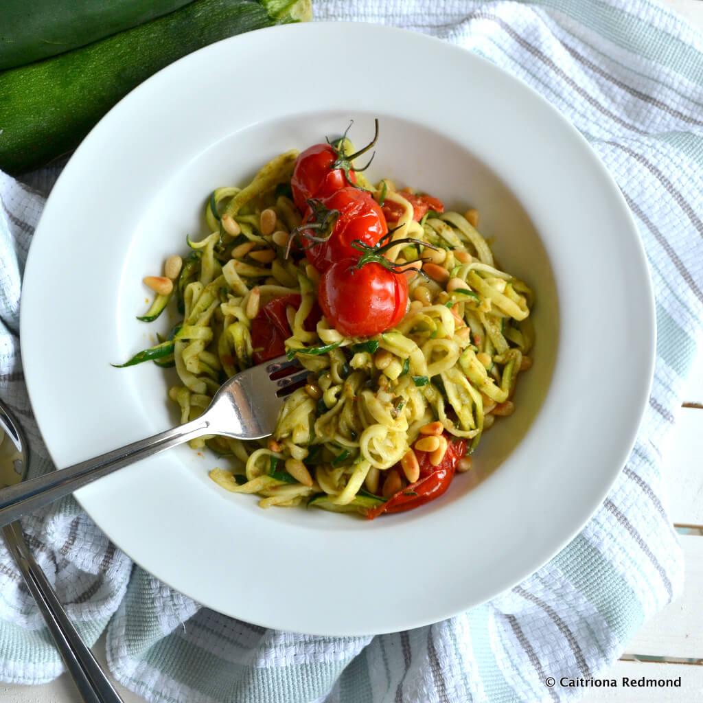 Courgetti With Pesto