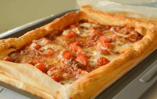 Easy Tomato Tart Recipe