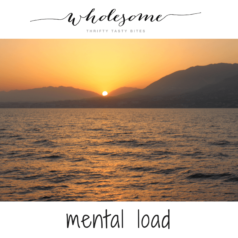 Mental Load - Food For Thought