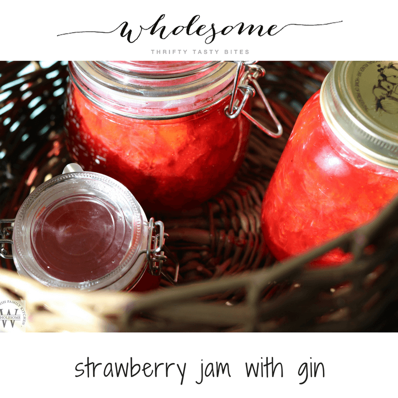 Strawberry Jam With Gin