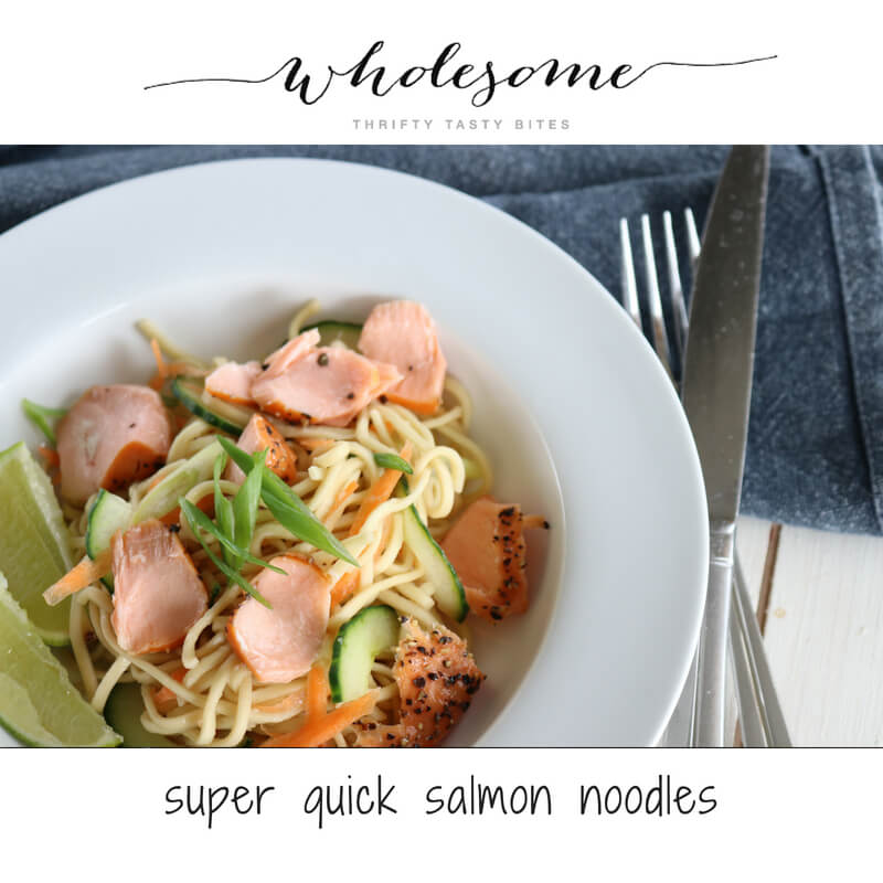 Super-Quick Salmon Noodles