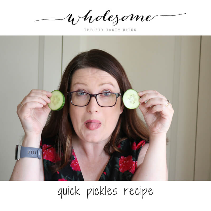 Quick Pickles - Quickles Recipe