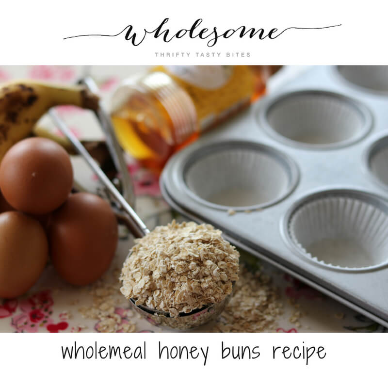 Wholemeal Honey Buns Recipe