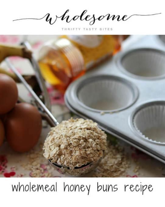 Wholemeal Honey Buns Recipe