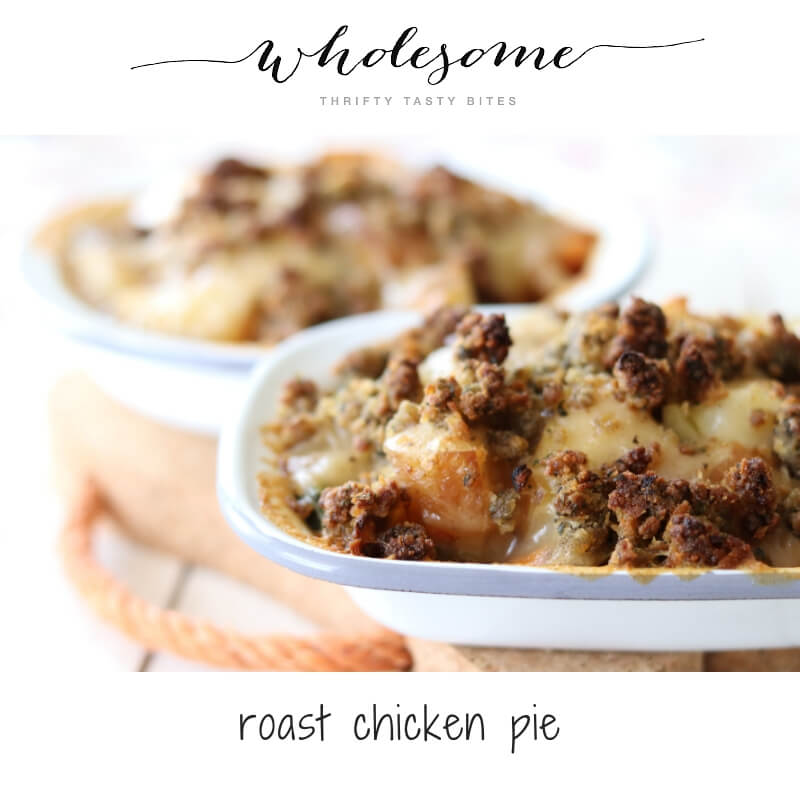 Roast Chicken Pie Recipe