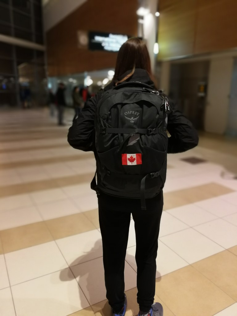 how to pack for an around the world trip, Kira Michelle, backpack