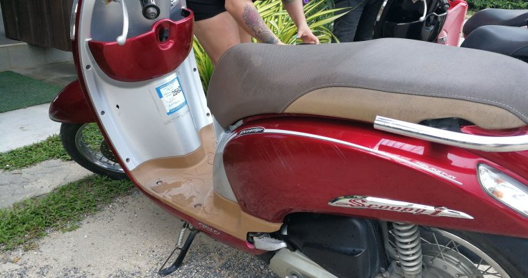 Renting Scooters from Chiang Mai to Pai