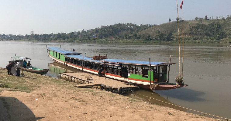 Taking the Slow Boat from Northern Thailand to Laos