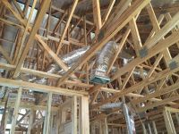 Rough HVAC Ducts and Furnace - Wholesteading.com