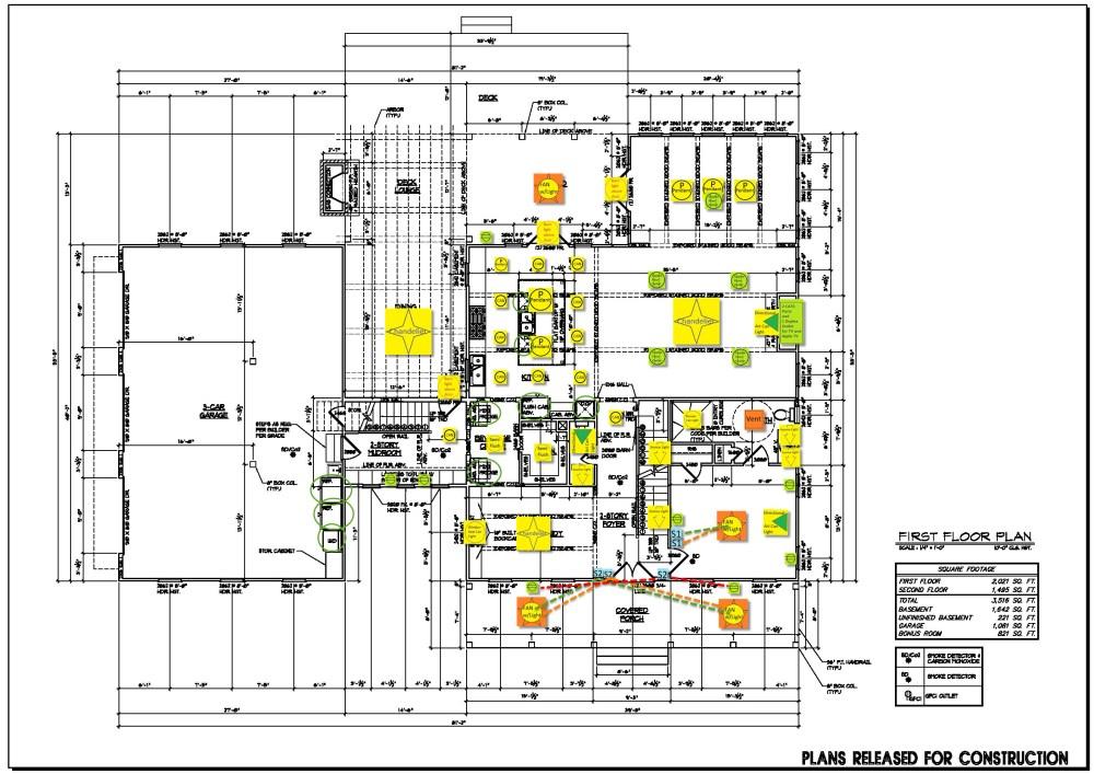 medium resolution of basement floor electrical plan first floor electrical plan