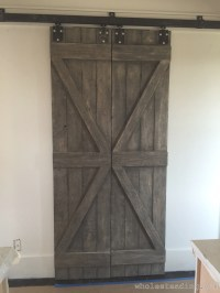 Homemade Barn Doors - Wholesteading.com