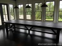 Farmhouse Dining Room Table - Wholesteading.com