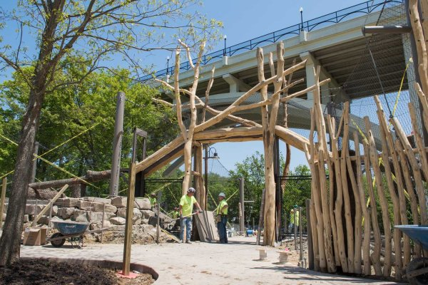 Wholetrees Structures Cleveland Metroparks Zoo