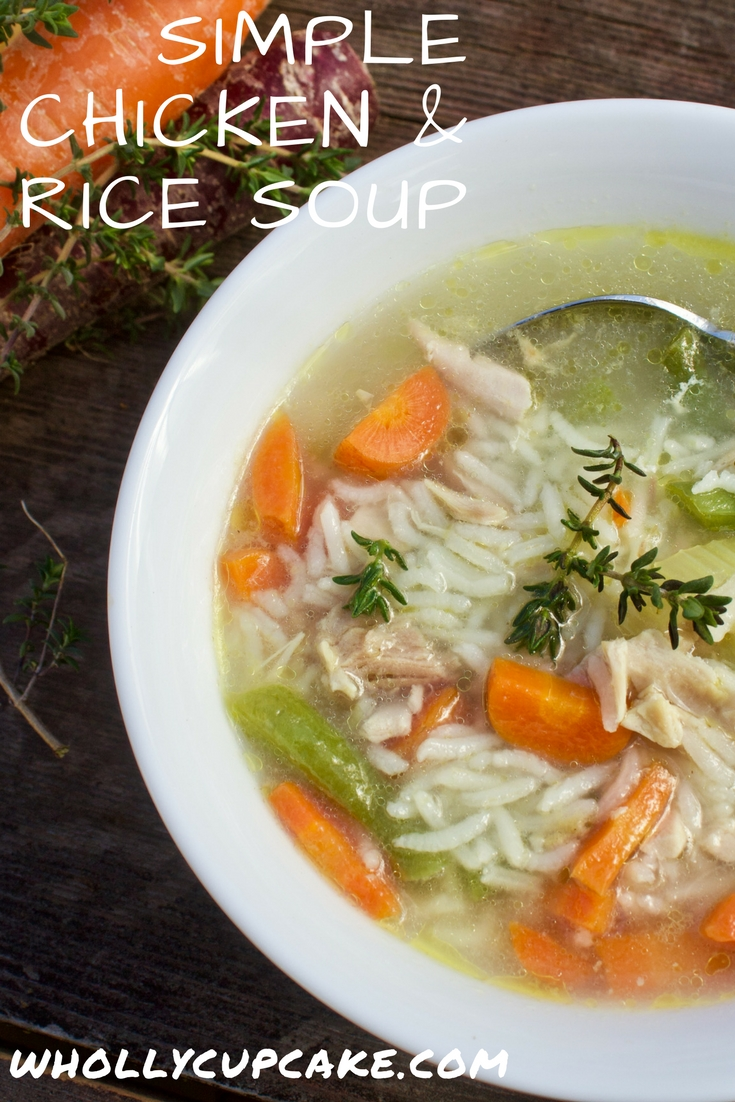Simple chicken &Rice soup