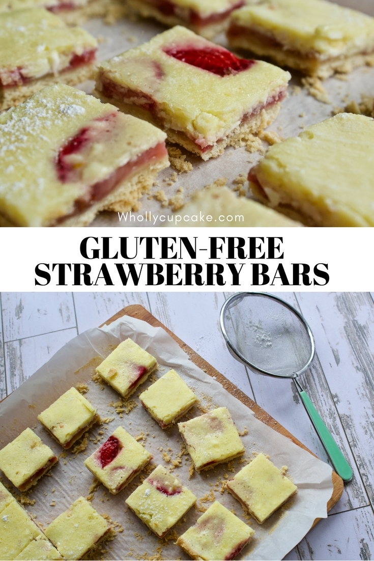 Gluten-Free Strawberry Bars