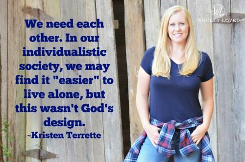 Kristen speaker image and quote