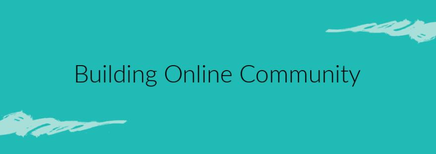 Online community banner image