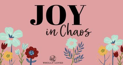 Joy in Chaos Bible reading plan logo