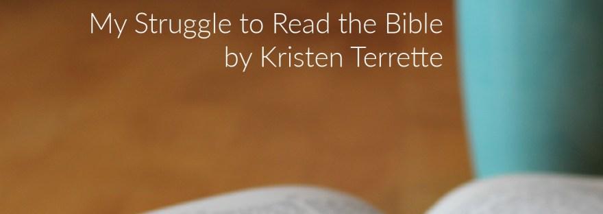 Kristen's blog title header