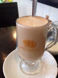 Decadent latte @ The Coffee Bean