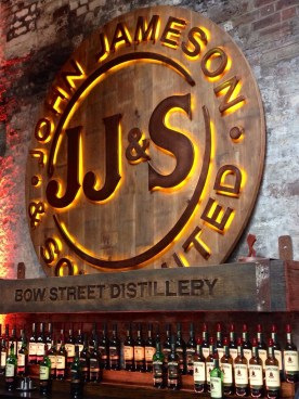 Tour around the Old Jameson Distillery - so fun!