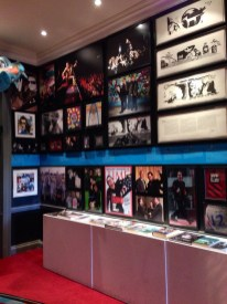 U2 exhibit at the Little Museum