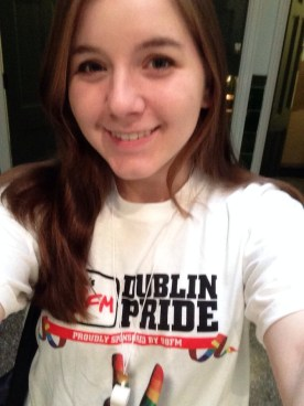 Got my volunteer t-shirt!
