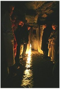 An image from the 2004 Winter Solstice - http://www.knowth.com/winter-solstice_2004.htm