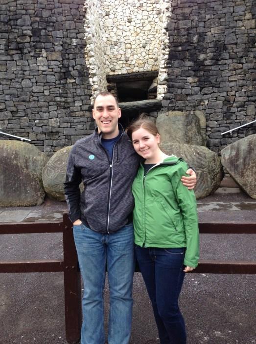 Outside of Newgrange